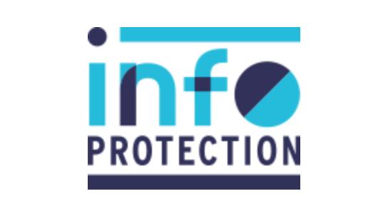 Logo InfoProtection - Passages médias - Cabinet Social, Stéphanie LADEL