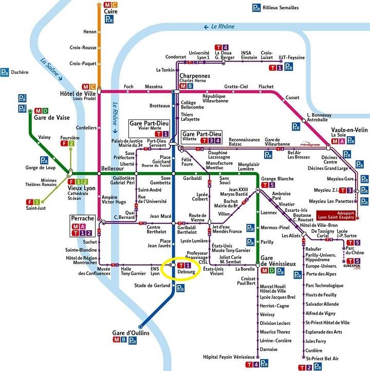 Plan cabinet et transports TCL lignes fortes Lyon Cabinet Social Stéphanie LADEL