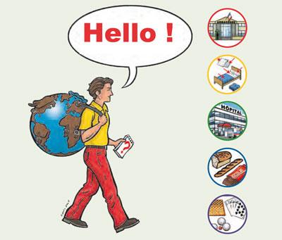 Routard réfugiés demandeurs d'asile migrants étrangers - Hello - Cabinet Social, Stéphanie LADEL